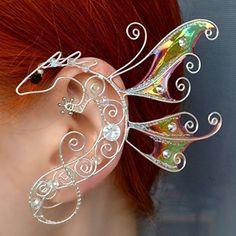 d30679df65de5 Dragon Ear Cuff Wing LOTR Dragon Earrings Boho Ear Crawler Body Fantasy  Earrings No Piercing Gifts For All Game of Thrones jewelry