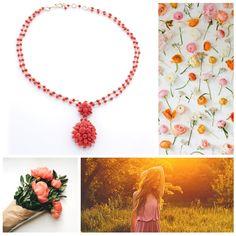 Oro di Sciacca, armonia di forme e colori in una collana di corallo <3