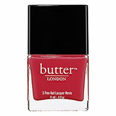 butter LONDON Nail Lacquer in Snog - bright hot pink #sephora