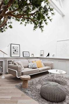 Fantastic Family Apartment In Paris — decor8 - living room