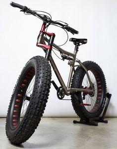 Lefty fat bike