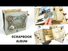 VINTAGE PHOTO BOOK | SCRAPBOOK IDEAS - YouTube