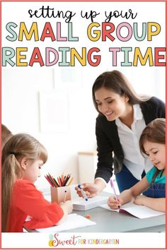 Learn how to structure, plan, and implement your small group guided reading lesson. During reading centers, small group time is the best way to differentiate what skills your students are learning. #smallgroup #centers #classroommanagement #kindergarten #1stgrade