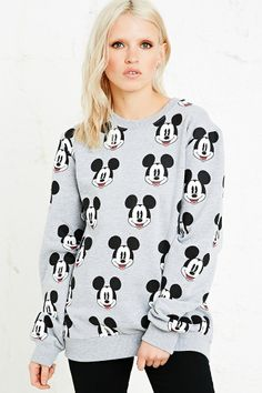 Eleven Paris Mickey Mouse Repeat Sweatshirt http://uoeur.pe/UOWnewin