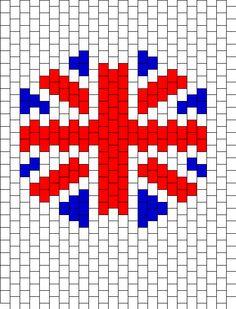 My American flag with perler beads | Crafts | Pinterest | Perler ...