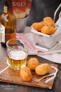Neus cocinando con Thermomix: Croquetas de jamón ibérico de Alberto Chicote con ...