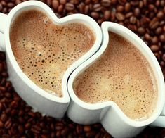 Coffee culture is more advanced in America. Here you will find the most beautiful coffee mug designs. I share with you, beautiful coffee mugs in this photo Coffee Heart, I Love Coffee, Coffee Break, My Coffee, Morning Coffee, Coffee Shop, Coffee Cups, Tea Cups, Coffee Lovers