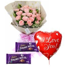 To sweeten your bond of love, to initiate a new relationship, or simply to express your feelings – order the combos of flowers and chocolates. #chocolate #flowerwithchocolate #balloon #giftideas #birthdaygift #onlinegiftshopphilippines