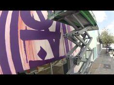Making Of the Louis Vuitton Miami Design District Store Facade by RETNA