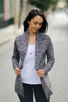 Ravelry: Longline Cardigan pattern by Joji Locatelli