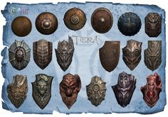Lancer shields pack1. All shields got the same numbers like lances - so You wont be having a problem with finding right one,and making Your lancer good equipmend :3! (C)Bluehole. DOWNLOAD onedrive....