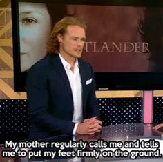 Sam has a good mom ;)