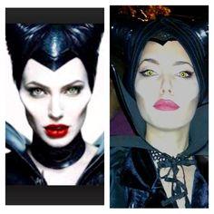 Maleficent Maleficent, Angelina Jolie, Halloween Face Makeup, Joker, Fictional Characters, Art, Art Background, Kunst, The Joker