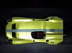 jannarelly electrifies the minimalist design-X1 roadster