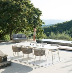 Tribù garden furniture: discreet luxury for the outdoors