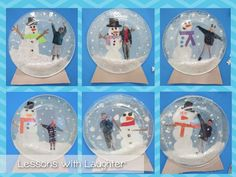 Snow Globes! - Lessons With Laughter                                                                                                                                                                                 More