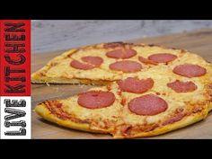 Πως να φτιάξετε και να απολαύσετε Πίτσα Πεπερόνι - How to make pizza pepperoni Live Kitchen - YouTube Greek Recipes, Kitchen Living, Pepperoni, Pizza, Cooking Recipes, Youtube, Live, Food, Eten