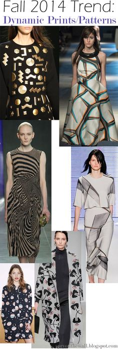 Fall 2014 Trend - Dynamic Prints/Patterns
