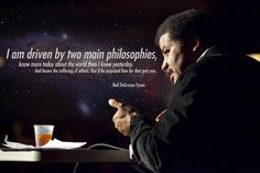 I am driven by two main philosophies...