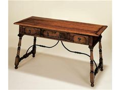 Holland Co Tuscan Writing Table, 2587