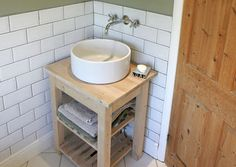 DIY Bathroom Sink