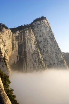 Monte Hua Shan, China.