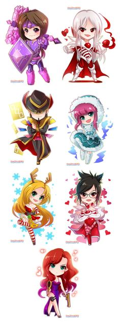 League of Legends chibi- CLS