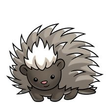 Porcupine Centipede - Lots of clip art on this site