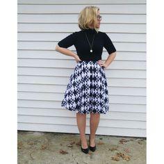 LuLaRoe Madison skirt #madisonskirt #pockets #pleats #highwaistskirt  #lularoe www.facebook.com/groups/lularoewithannie