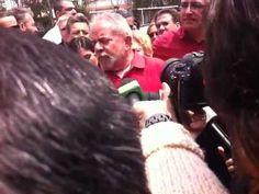 Coletiva Lula em São Bernardo #Dilma13PraVencer
