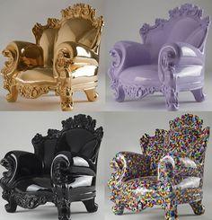 кресло Proust Пруст в интерьере