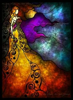 stained glass art by effie