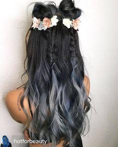 Charcoal Hair Color | | POPSUGAR Beauty Photo 11