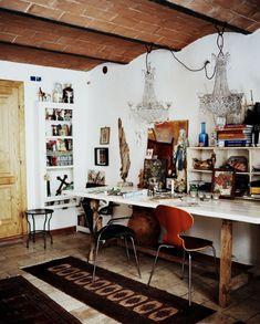 BELLE VIVIR: Interior Design Blog | Lifestyle | Home Decor: Global Chic Home Office