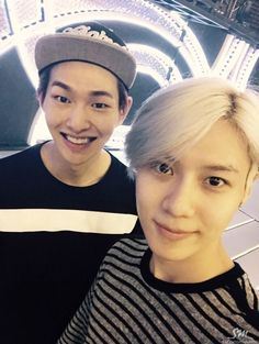 Onew and Taemin - Naver Starcast Update 150514