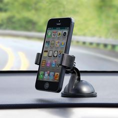 The Any Surface Car Mount - Hammacher Schlemmer