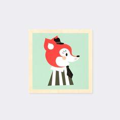 Illustration - Holz - Kinder - Dänisch Design