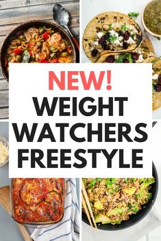 Weight Watchers Freestyle - New Plan 2018 - Slender Kitchen. Works for