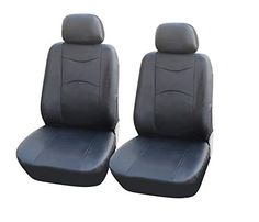 115901 Blackleather Like 2 Front Car Seat Covers Compatible to MercedesBenz EClass Wagon BClass CClass Sedan Electric SClass Sedan Electric 20172007 * You can get more details by clicking on the image.Note:It is affiliate link to Amazon.