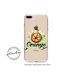 Orange iPhone Case - iPhone 7 Case - iPhone 7 Plus Case - iPhone 6 Case - iPhone 8 Case - iPhone X Case - iPhone 8 Plus Case by PetrichorCases on Etsy Iphone 8 Plus, Iphone 8 Cases, Orange Design, 6s Plus Case, New Product, Unique Jewelry, Handmade Gifts, Etsy, Kid Craft Gifts
