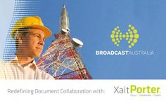 Broadcast Australia signed with Xait. Broadcast Australia owns and operates one of the most extensive terrestrial broadcast transmission networks worldwide Australia, Signs, News, Shop Signs, Australia Beach, Dishes