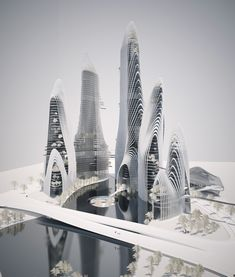Shanshui City research, courtesy of MAD Architects.