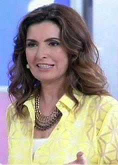 """Fátima Bernardes: """"fui a última da minha turma que teve seios""""   y_entretenimento - Yahoo OMG! Brasil"""