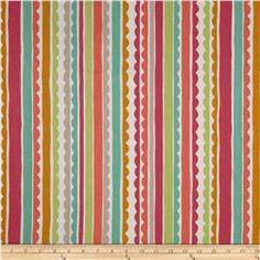 P Kaufmann Saray Stripe Cotton Candy