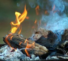 woodfire ashes
