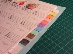 organize your fabric-this just might work for me! download forms for your own fabric brochures