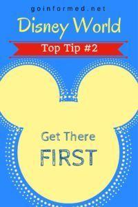Disney World Top Tip