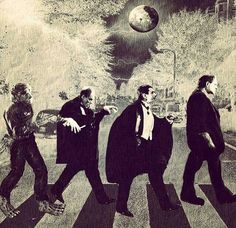 Finde eine neue Version: The Beatles - Abbey Road - Cover - NOX Archiv - Forum Retro Horror, Horror Icons, Vintage Horror, Horror Films, Horror Art, Funny Horror, Halloween Horror, Halloween Art, Vintage Halloween