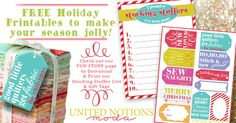Free Holiday Printables #verymerrymodachristmas