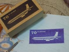 Airmail stamp 90
